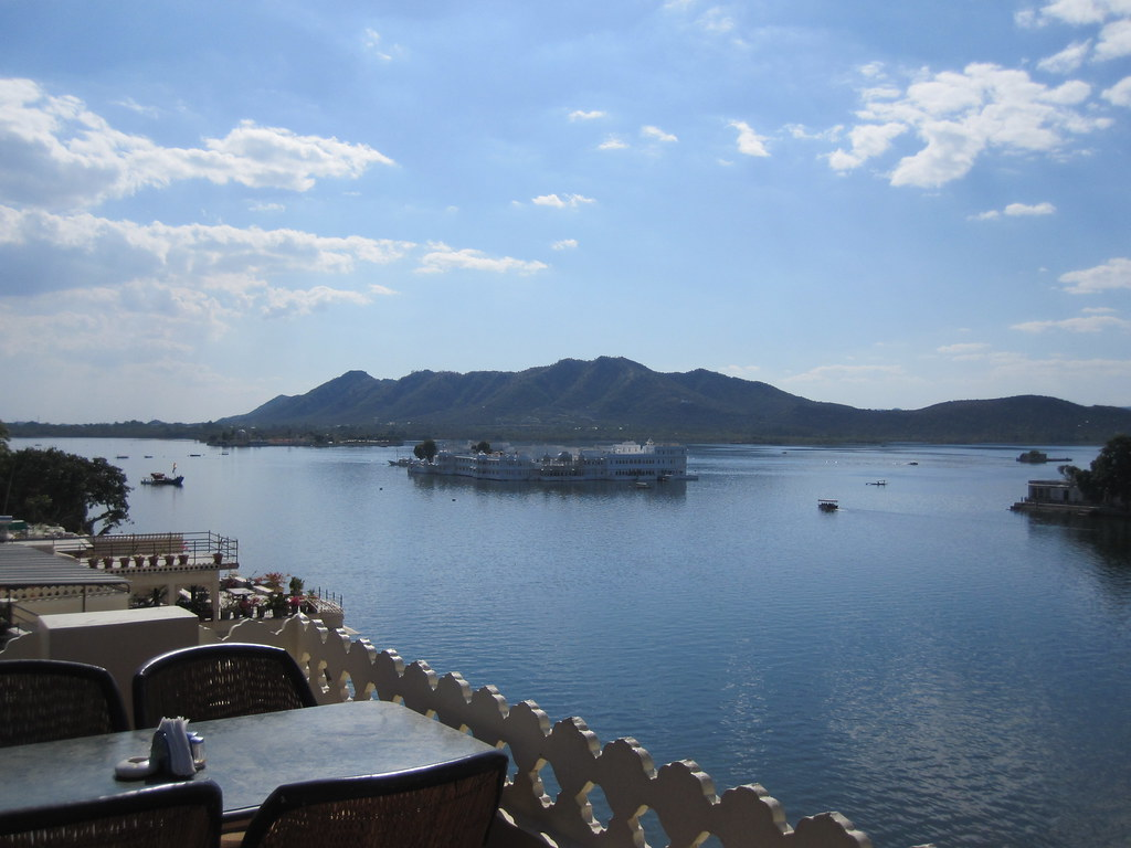 Lake Palace From Hotel