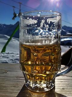 Ski beer!