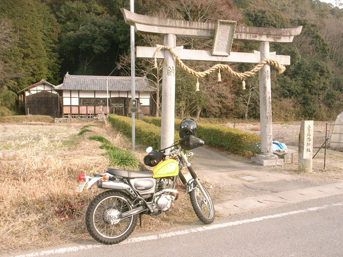 Susanoo Shrine & Yamaha Bronco by naozo