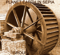 PLANET EARTH IN SEPIA group gallery. Showcase galleries on display in PLANET EARTH NEWSLETTER. New Updates ck. them out. More updates as time goes on. PLANET EARTH IN SEPIA is our featured group of the month.