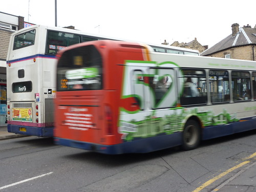 Stagecoach overtake