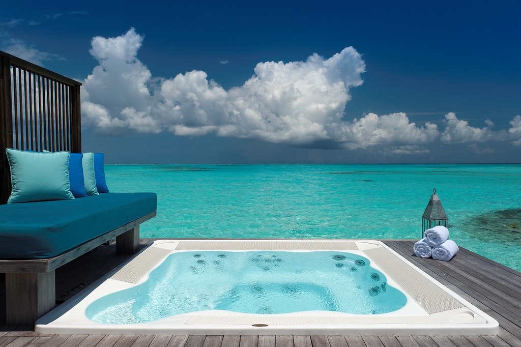 Conrad Maldives Spa Water Villa