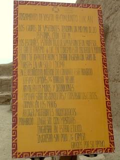 Image of Chan Chan near Trujillo. peru viajes trujillo chanchan 2011