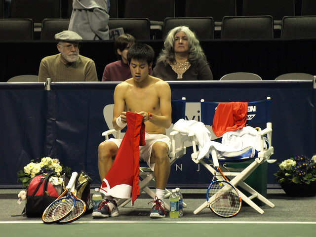 Kei Nishikori Shirtless