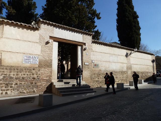 Santa María de la Blanca, sinagoga del siglo XII, Toledo