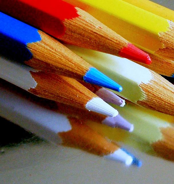 Como una vida llena de colores. / As a life full of colors.