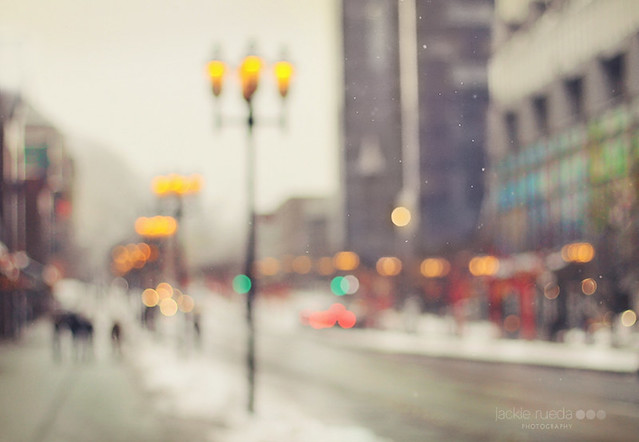 Sometimes the city feels like this - Beautiful Bokeh Photography