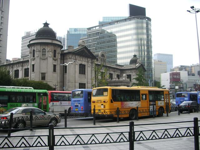 Bank of Korea / Buses