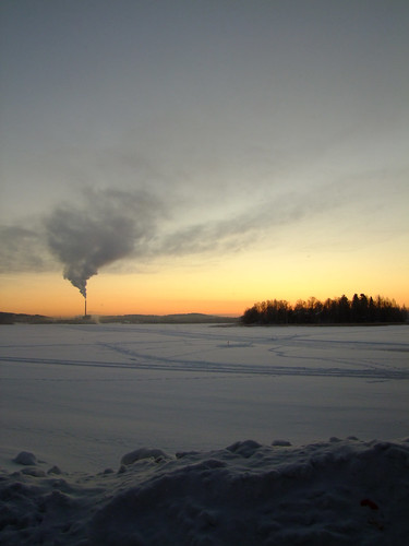 morning winter cold sunrise suomi finland factory jyväskylä jyväsjärvi lutakko