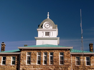 Fentress County Courthouse rear view
