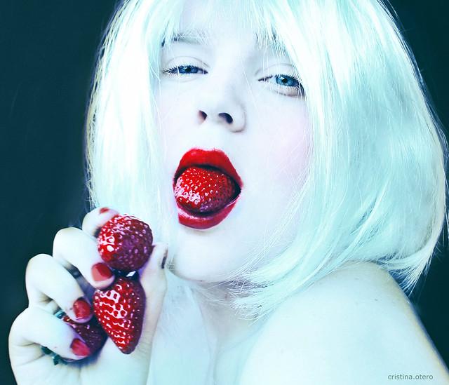 lengua de fresa