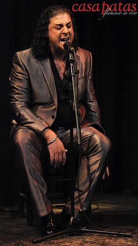 El cantaor Antonio Fernández. Foto: Martín Guerrero