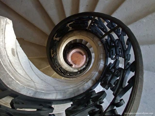 Escalier de la tour Principale, Palais Jacques Coeur