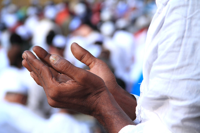 Muslim hands in prayer to Allah | Flickr - Photo Sharing!