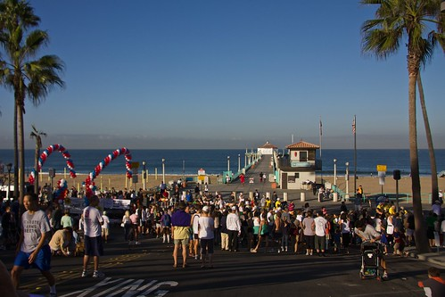 Manhattan Beach Hometown 10k Run 2009