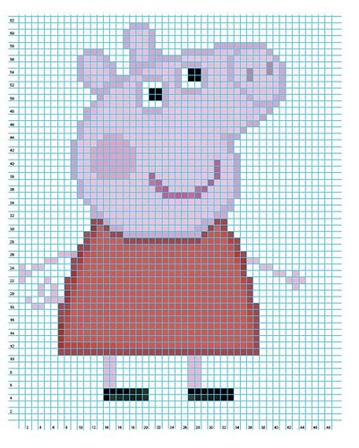 Knitting Chart Software Free : Peppa pig knitting and crochet patterns update sewing