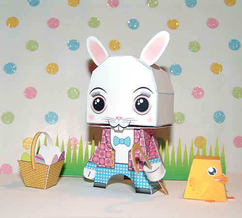 easter-bunny-paper-craft