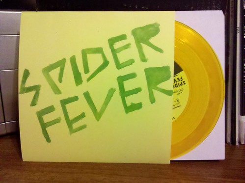 "Spider Fever - Whatcha Gonna Do 7"" - Gold Vinyl /200"