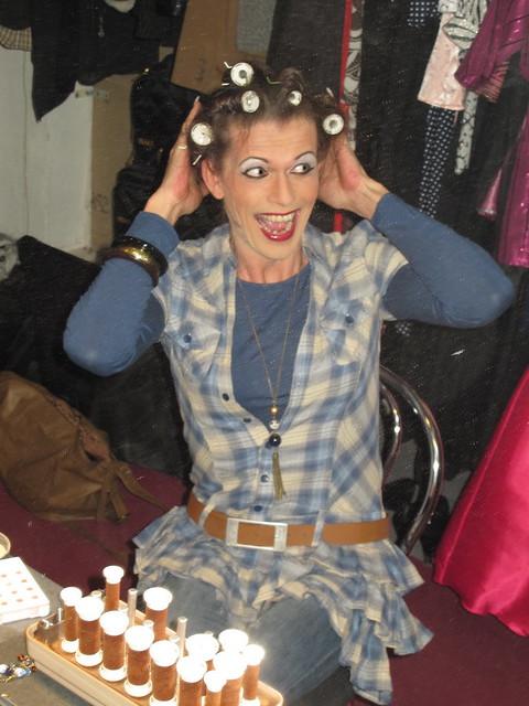 Flickr Crossdresser in Hair Curlers