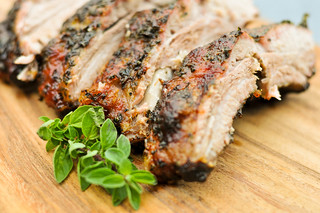 Herb-Encrusted Baby Back Ribs