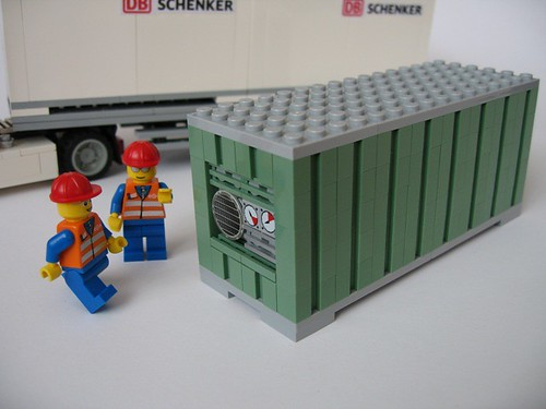 Sandgreen container for eurobricks raffle