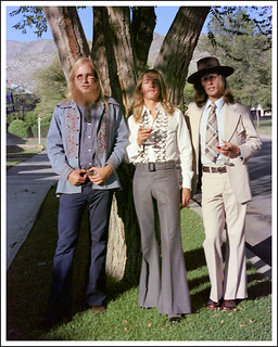 Tres Hippies, El Paso, September, 1975