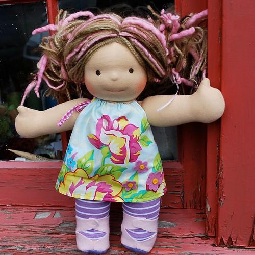 Куклы своими руками фото из ткани