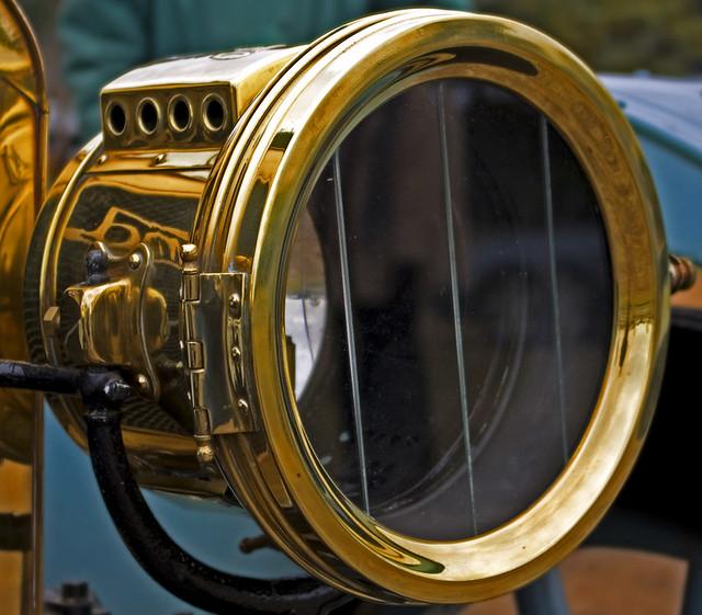 Carbide Car Headlights : Vintage car acetylene carbide headlight flickr photo