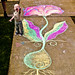 Tacoma Sidewalk Chalk - 2011-03-25
