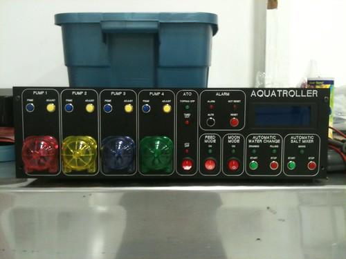 Arduino control project dendroboard