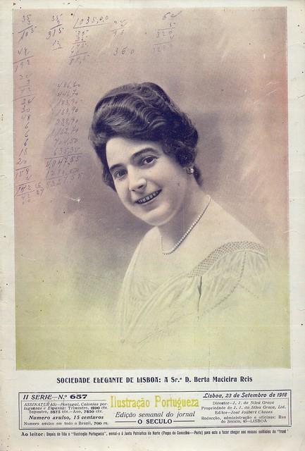 Ilustração Portugueza, Nº 657, Setembro 23 1918 - capa
