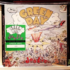 Wonder what the green #vinyl is worth? #greenday