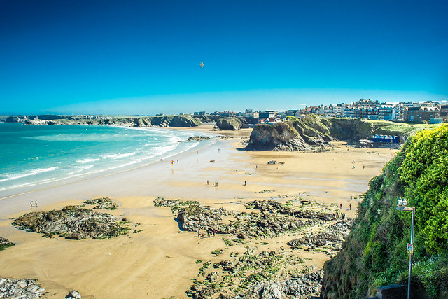 The island, Newquay, Cornwall, United Kingdom