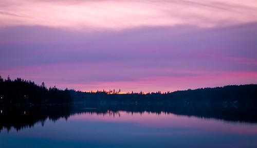 pink sunset lake color washington northwest mason vivid masonlake tamron1750mmf28 canont1i jeremympiehler