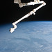 Canadarm2 Over Earth (NASA, International Space Station, 01/05/11)