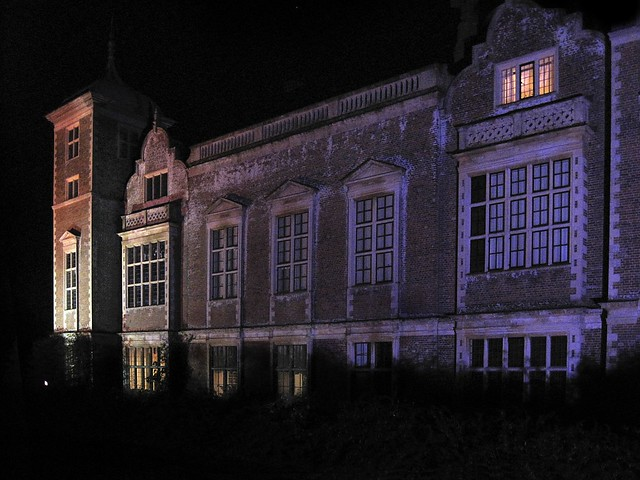 blickling hall, christmas time