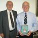 Prof. Bernard Knight & Stan Rondeau at the Civic Society 2010