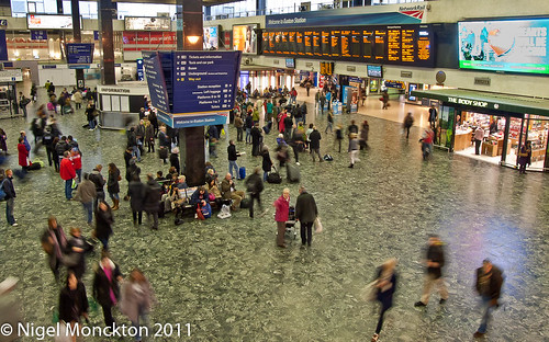 Euston station - 16:01