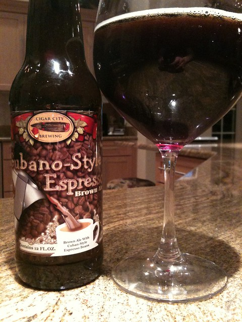 Cigar City Brewery Tampa Cubano-Style Espresso Brown ale