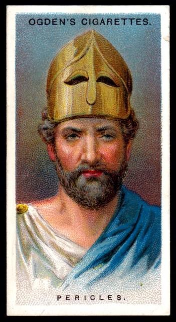 Cigarette Card - Pericles