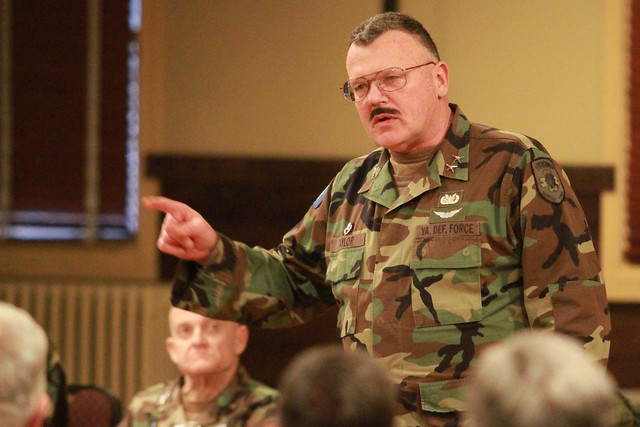 Virginia Defense Force : Virginia defense force leaders gather at fort pickett for