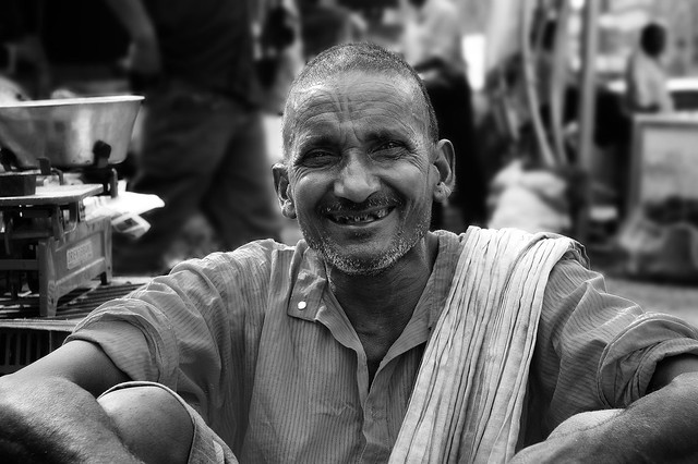 Old Sabzi Wala (Vegetable Seller)
