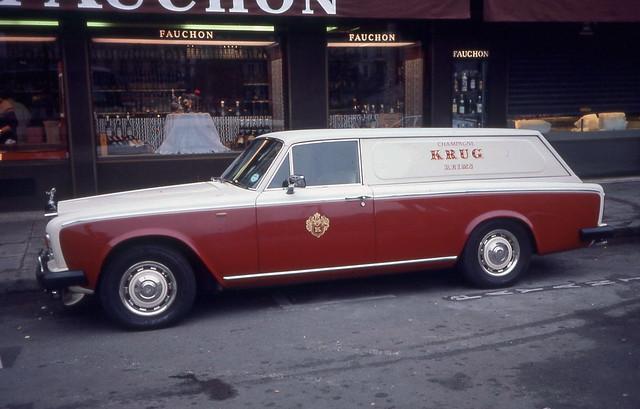 Rolls-Royce Fauchon delivery van
