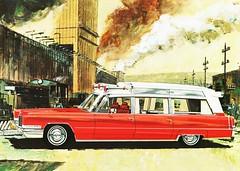 [免费图片素材] 图形, 插图, 汽车, 凯迪拉克, 凯迪拉克 Ambulance, 图形 - 交通 ID:201205180000