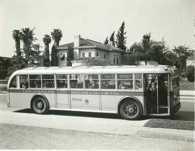 Los Angeles Motor Coach Bus 3702 Flickr Photo Sharing