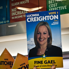 The Lucinda Fan Club - General Election 2011. By: William Murphy