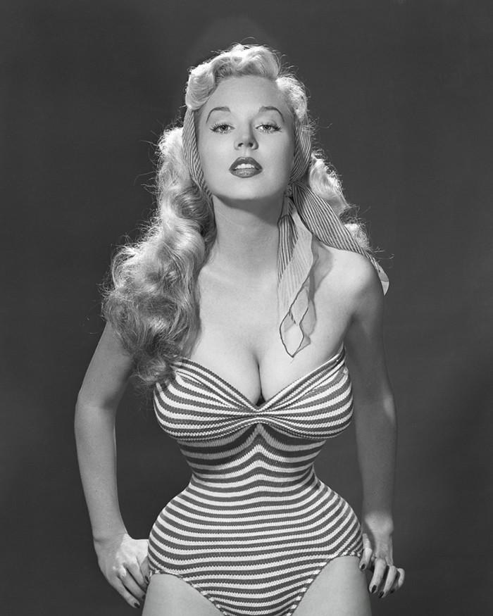 Betty Brosmer-Perfect Hourglass Figure