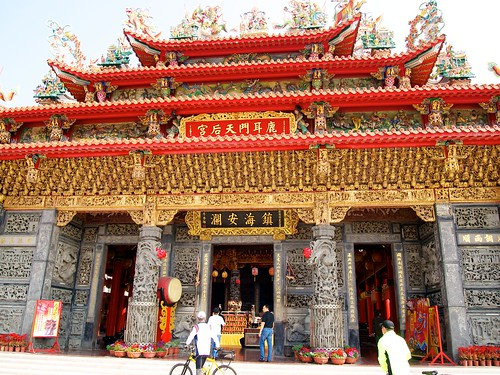 The temple of Mazu