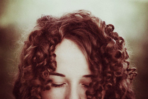 gossamer on her warm hair by laura makabresku