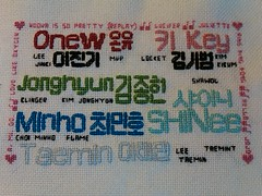 Completed SHINee sampler